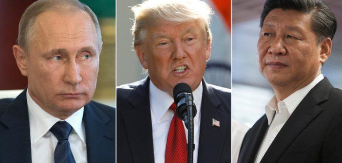 تشدید رقابت امریکا، چین و روسیه برای قدرت برتر