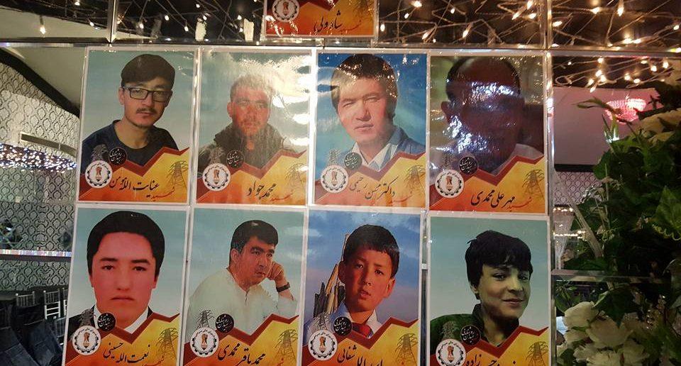 Alcune delle giovani vittime dell'attentato