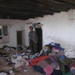 Hazara home burned and looted by Kuchi