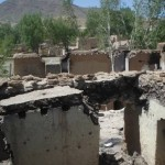 Hazara Home, looted and burned by Kuchi-Taliban
