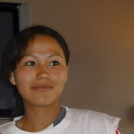 Hazara girl Zahra Mahmoodi , Captain of Afghanistan women soccer team