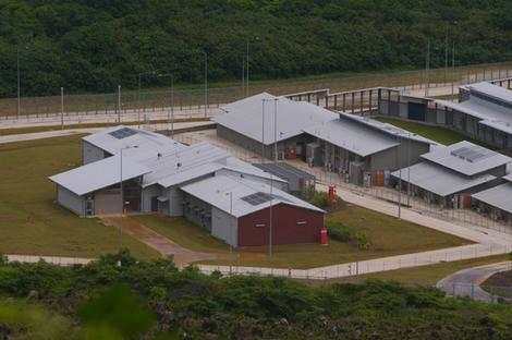 The Christmas Island Dentention Centre.
