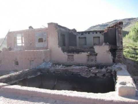 Hazara home burned and looted by Kuchi /May 2010