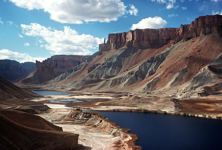 Lake Band-i-Amir in the province of Bamiyan. PHOTO: AFP (file)