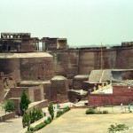 The Qila Mubarak fort at Bathinda, India was built by Kanishka.