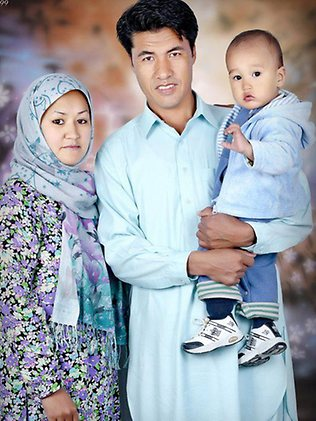 Ezatullah Fiazi, her wife Hakima Abbasi and their son Taha Fiazi are asylum seekers who went missing in August 2012. Source: Supplied