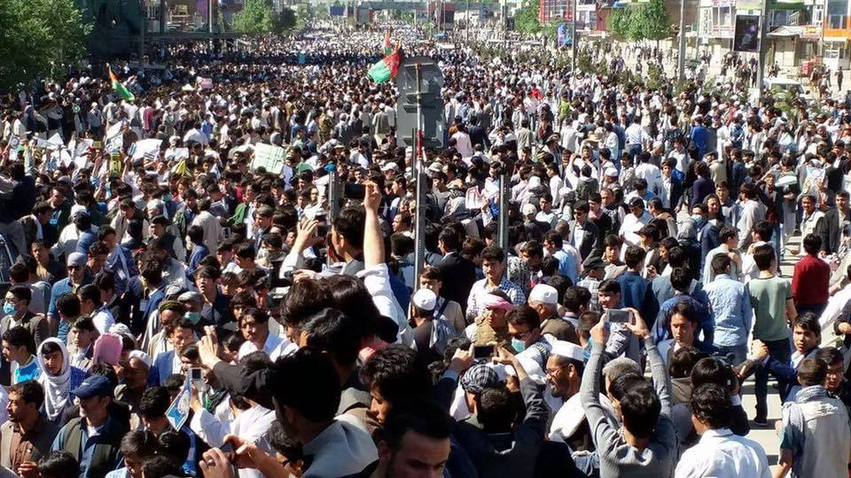 Power line protests: Afghanistan capital Kabul paralysed