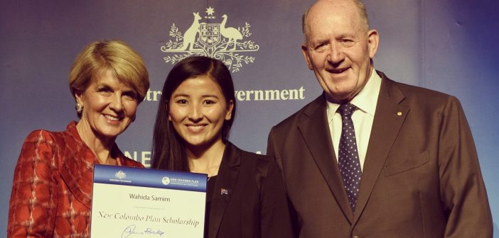 Colombo Plan scholarship for Hazara refugee high achiever