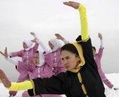 Hazara women practise ancient Shaolin arts