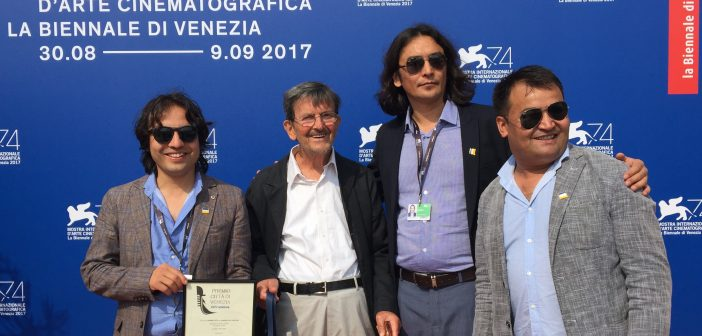Amin Wahidi Receives The 24th Venice City Award 2017