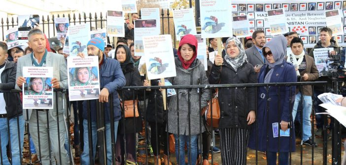 British Hazara Protest in Londo: Stop Violence Against Hazaras in Afghanistan