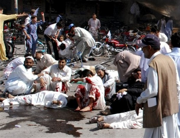 DEATH TOLL REACHED 73, OVER 200 INJURED IN QUETTA BOMB BLAST. /AP Photo