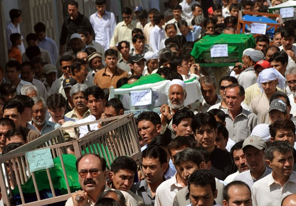 Quetta shuts down to mourn blast victims/ Getty Images