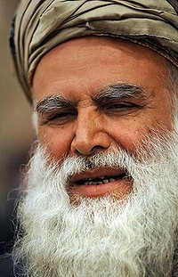 Abdul Rab Rasul Sayyaf ... once close to bin Laden. Photo: Reuters