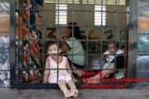 Children at the Lenggeng Immigration Detention Depot south of Kuala Lumpur.