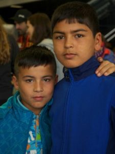 PHOTO: Hazara cousins, both born in Iran, arrived in Vienna last year. The boys are among 22,000 ethnic Hazaras who applied for asylum in Austria in 2015. (Kim Traill)